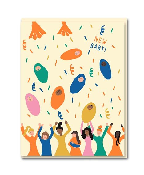 New Baby 'Baby Shower' Card