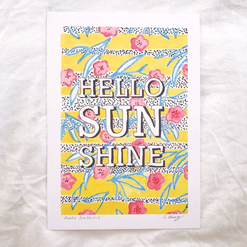 'Hello Sunshine' Illustration