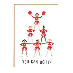'You can do it!' card
