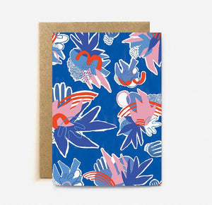 Blue Jungle card