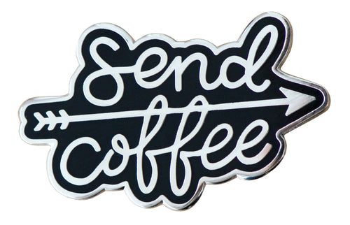 'Send Coffee' pin