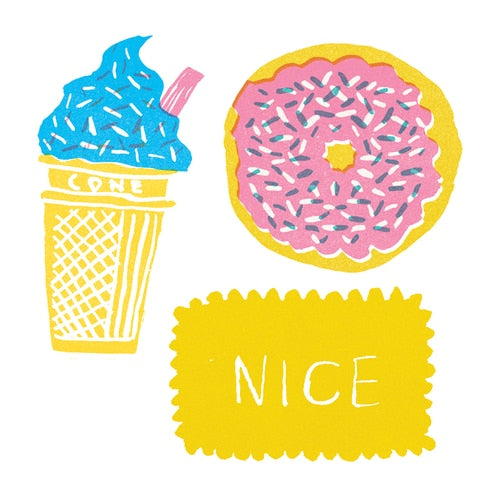 Sweet Treat Vinyl Stickers