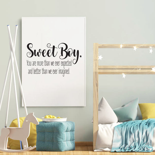 Sweet Boy | Print | Digital Download