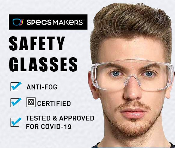 Why is it important to wear spectacles due to COVID-19? | Buy Safety Glasses online