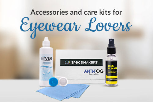 Accessories and care kits for Eyewear lovers
