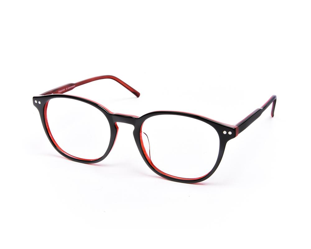 ROUND BLACK SHINE WITH RED HAPPSTER FRAME AMK35022