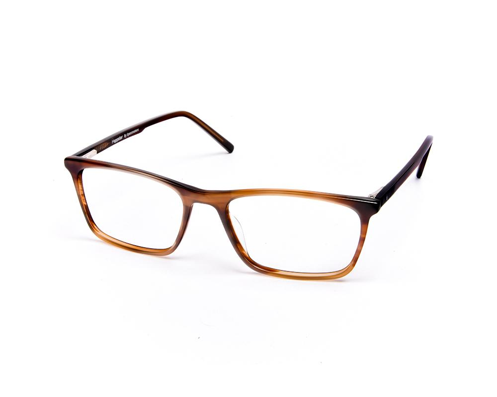 SQUARE BROWN SHINE WITH BROWN HAPPSTER FRAME AMK55014