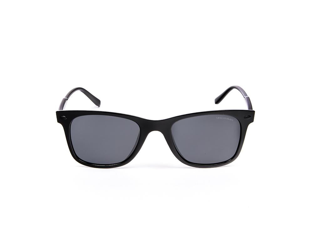 RECTANGLE BLACK SHINE WITH BLACK SUNGLASS SOG897