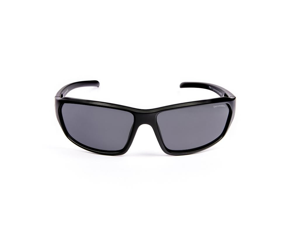 RECTANGLE BLACK MATT WITH BLACK SUNGLASS SOG908