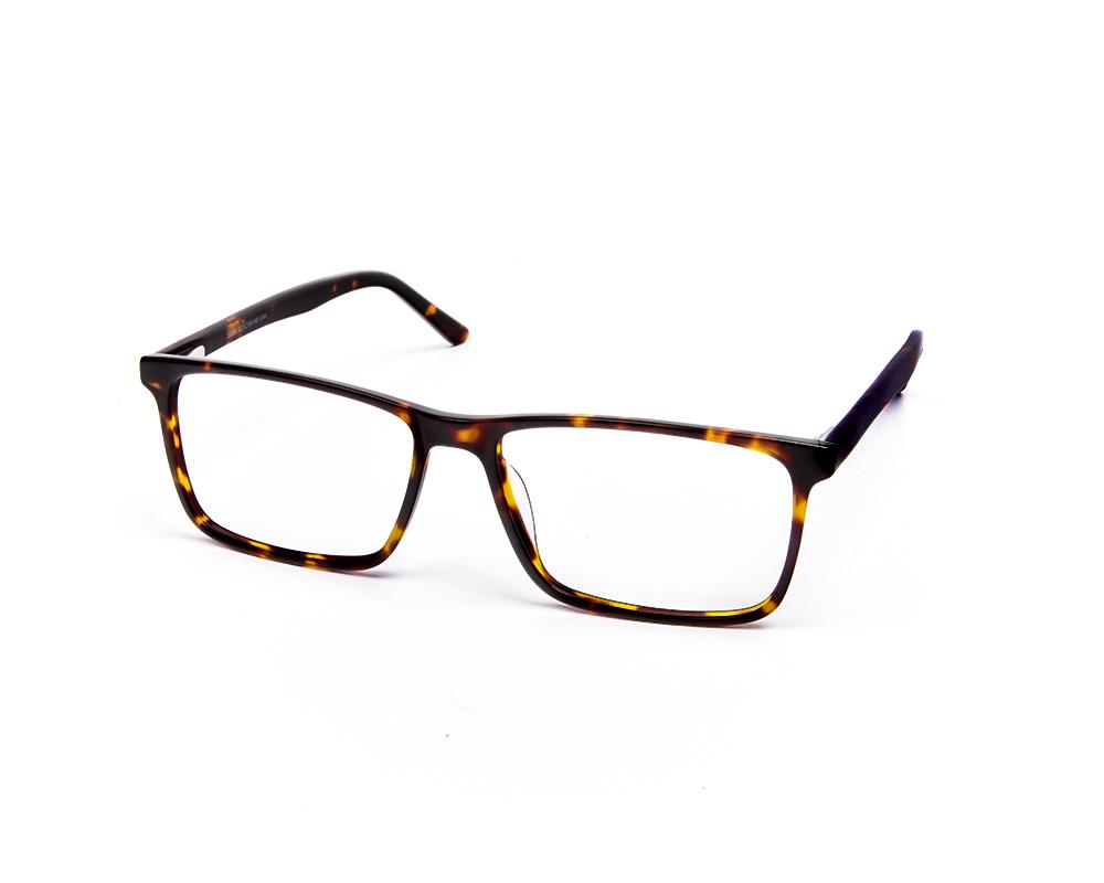 RECTANGLE BROWN TORTISE WITH TORTISE HAPPSTER FRAME AMK55018