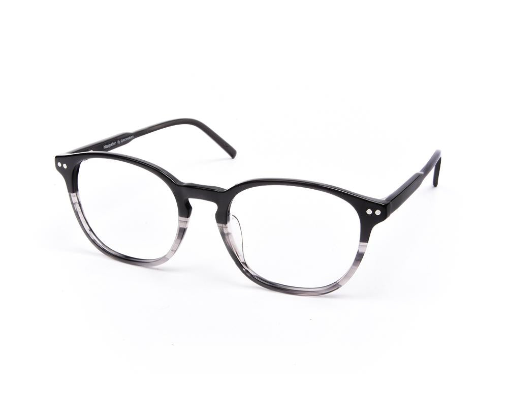 ROUND BLACK DUO WITH BLACK HAPPSTER FRAME AMK35022