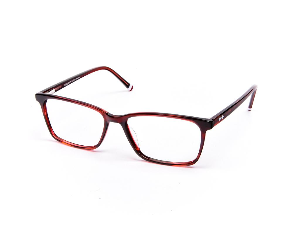 RECTANGLE RED SHINE WITH RED HAPPSTER FRAME AMK55016