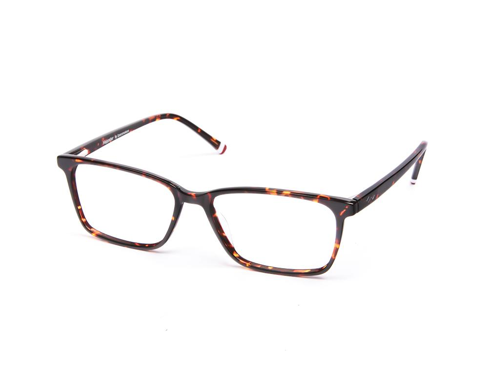 RECTANGLE BROWN TORTISE WITH TORTISE HAPPSTER FRAME AMK55016