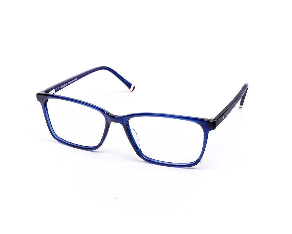 RECTANGLE BLUE SHINE WITH BLUE HAPPSTER FRAME AMK55016