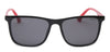 Specsmakers Streak Unisex Sunglasses Full_frame Square Oversized 57 Plastic SM STR1007