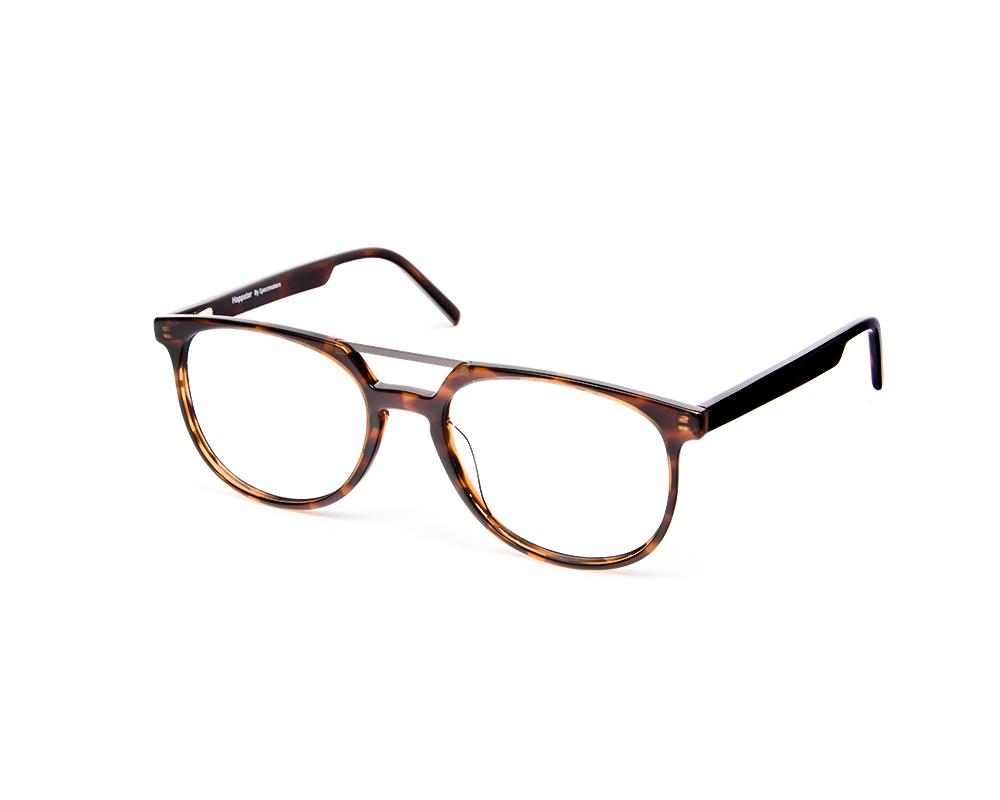 ROUND BROWN TORTISE WITH BROWN HAPPSTER FRAME AMK35025
