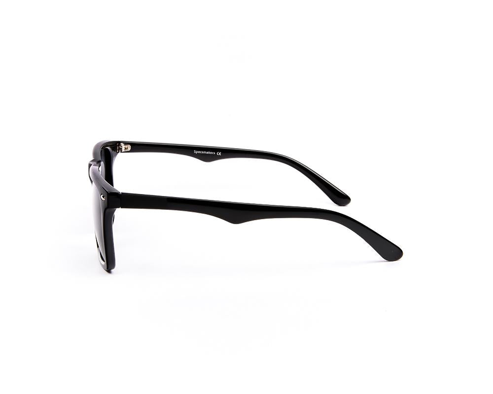 RECTANGLE BLACK SHINE WITH BLACK SUNGLASS SOG885