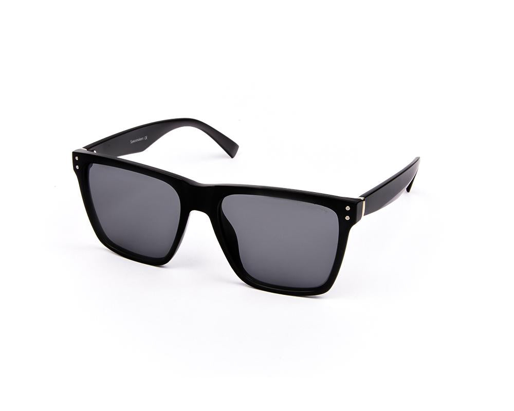 RECTANGLE BLACK MATT WITH BLACK SUNGLASS SOG821