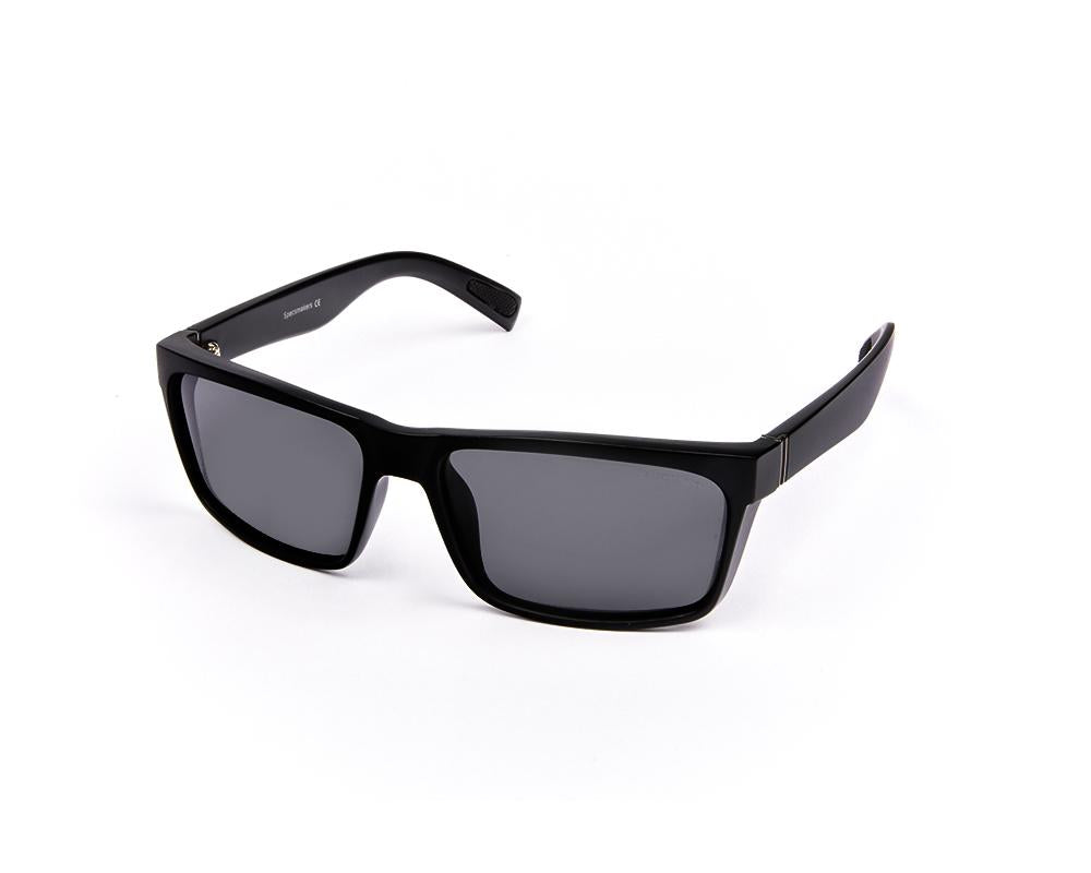 RECTANGLE BLACK MATT WITH BLACK SUNGLASS SOG879