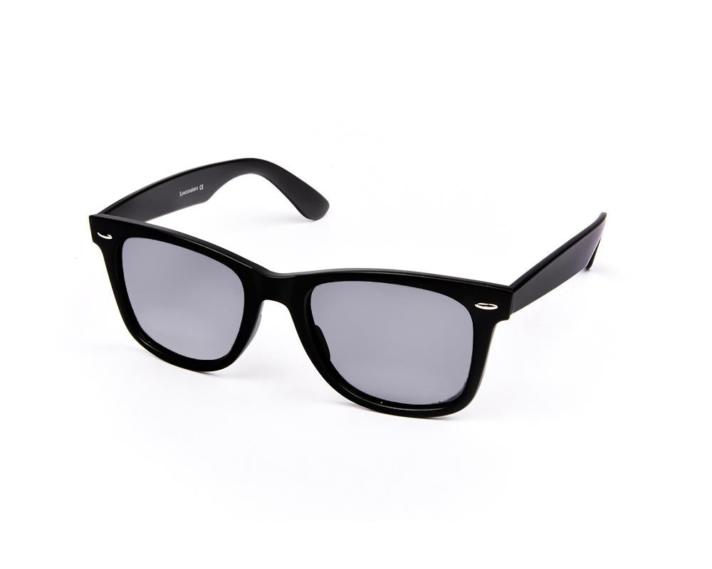 RECTANGLE BLACK MATT WITH BLACK SUNGLASS SOG7012