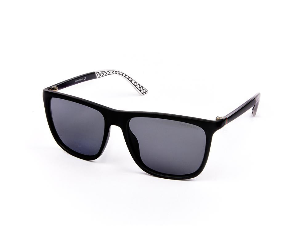 RECTANGLE BLACK MATT WITH BLACK SUNGLASS SOG831