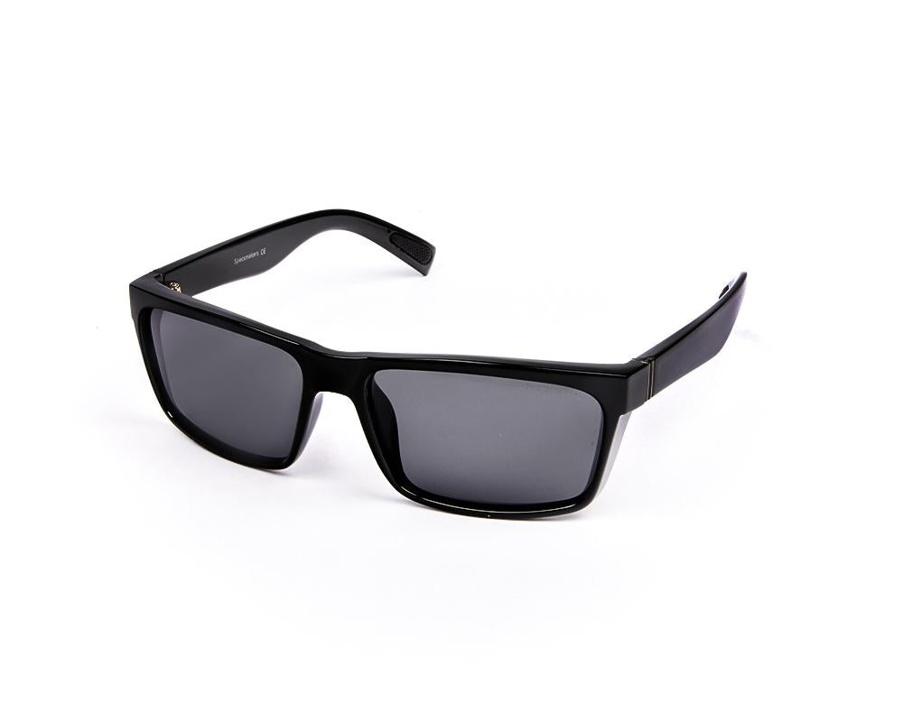 RECTANGLE BLACK SHINE WITH BLACK SUNGLASS SOG879