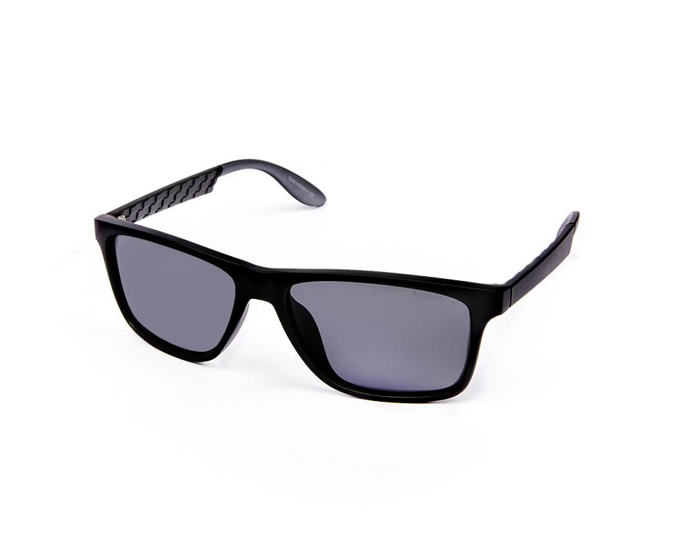 RECTANGLE BLACK MATT WITH BLACK SUNGLASS SOG896