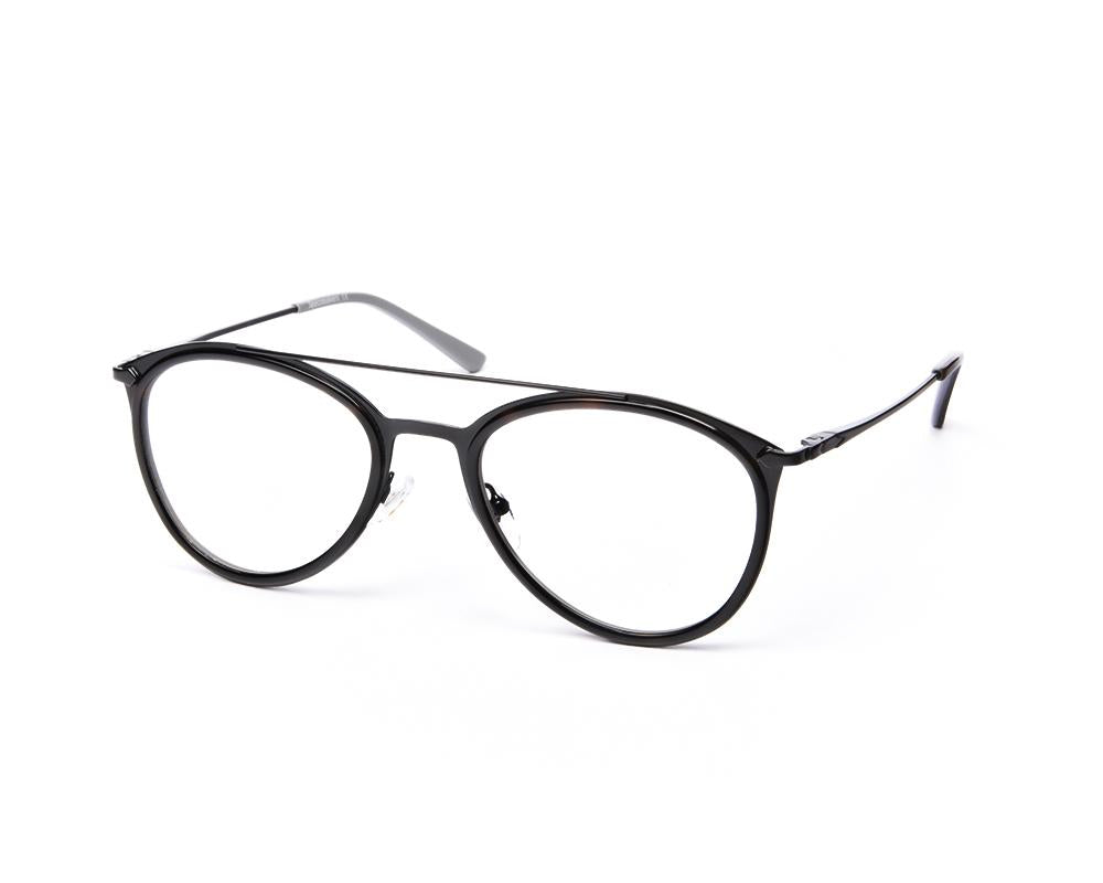 OVAL BLACK SHINE WITH BLACK SHELL FRAME SS6487