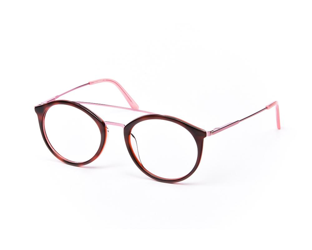 ROUND REDSHINE WITH PINK SHELL FRAME SS10432