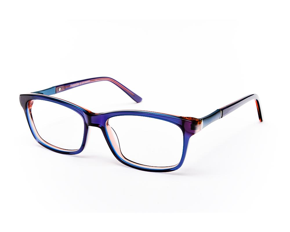RECTANGLE BLUE SHINE WITH BLUE HAPPSTER NO17307 - Specsmakers