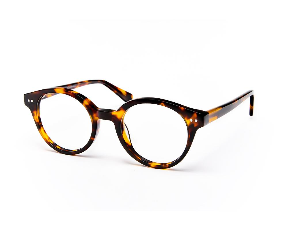 ROUND BROWN TORTISE WITH TORTISE HAPPSTER NO17277 - Specsmakers