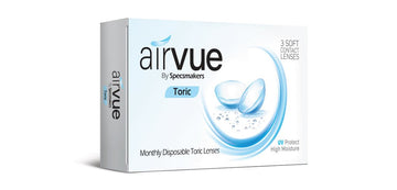 Airvue Toric Monthly Disposable Contact Lenses