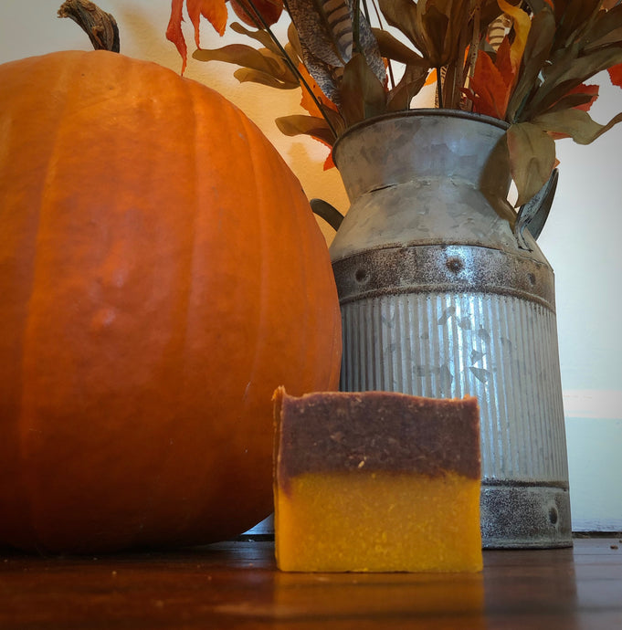 Pumpkin Spice Goat Milk Soap - Limited quantity