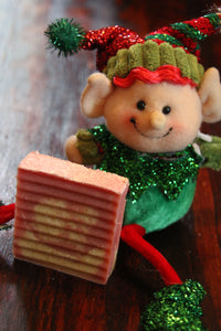 Peppermint Bark Goat Milk Soap