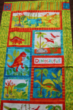 Load image into Gallery viewer, Dinosaur Quilt
