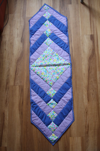 Spring Diamond table runner