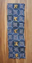 Load image into Gallery viewer, Denim Sunflower Table Runner