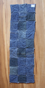 Denim Sunflower Table Runner