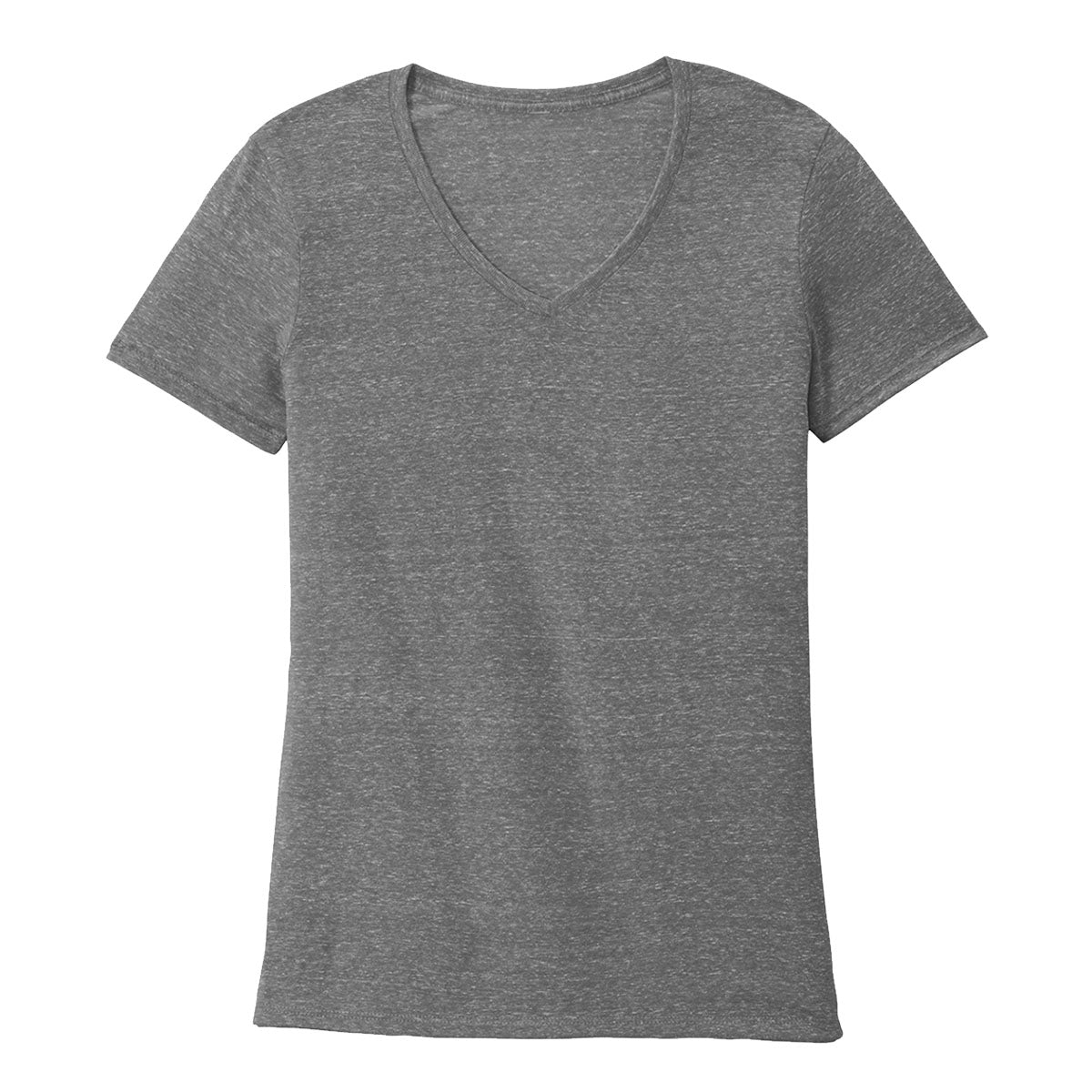 Ultra Comfort Snow Heather V-Neck