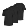 Crew Neck Black Out 3-Pack