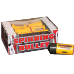 SPINNING BULLETS (12 PACK)