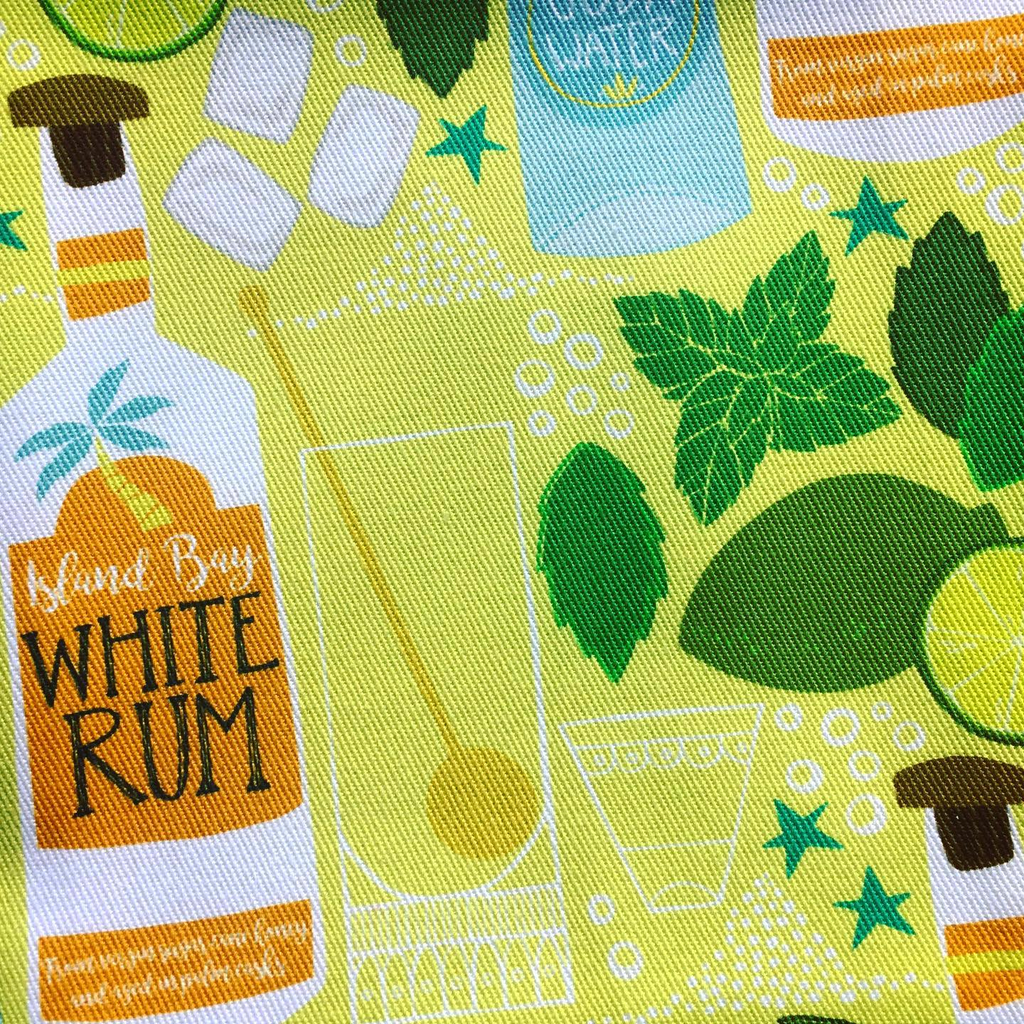 Mojito patterned tea towels off to a new home today!