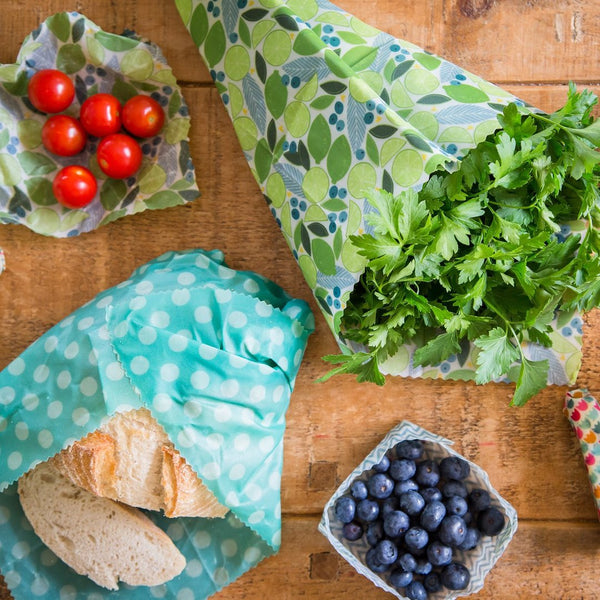 Beeswax Wraps - Trio