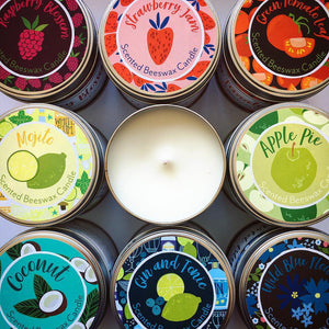 Sale Item: Scented Beeswax Candles-Various Fragrances