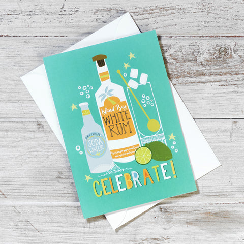Mojito Celebrate Greeting Card