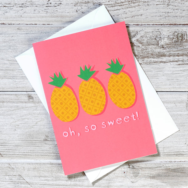 'Oh, So Sweet' Greeting Card