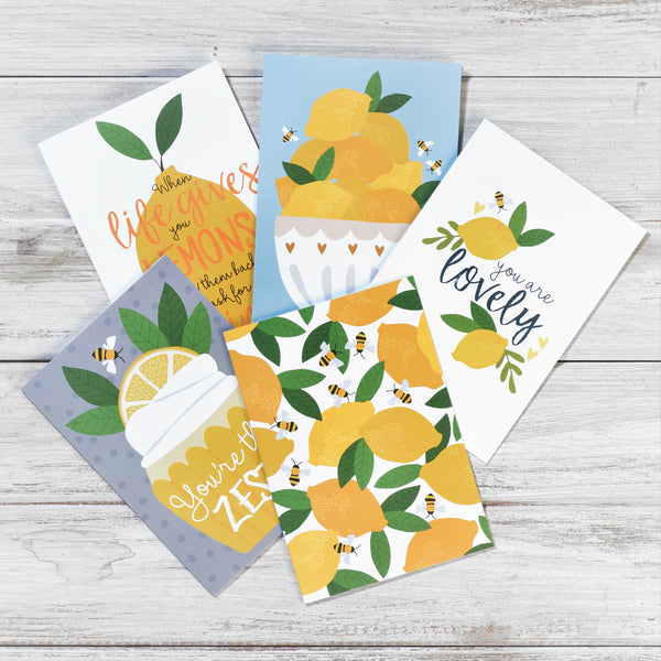 Lemons Greeting Cards Collection