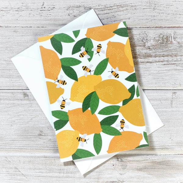 'Everyday Greetings Cards' Lemons and Bees Collection
