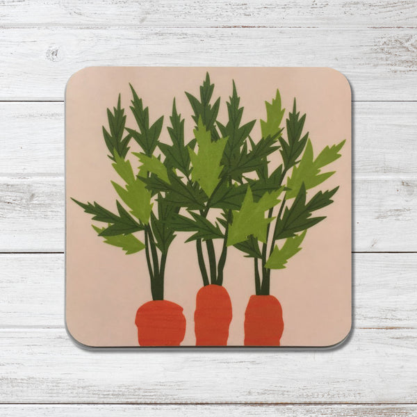 'Vegetable Patch' Coasters