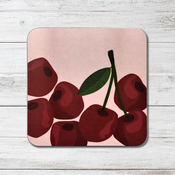 Cherries Coaster